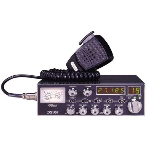 GALAXY DX959 40 CHANNEL AM/SSB CB RADIO – AUTOMATIC SWR - NEW IN BOX