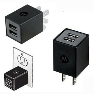 2-Pack-Motorola-Dual-Port-Universal-USB-Travel-Charger-Charge-2-Devices-at-Once