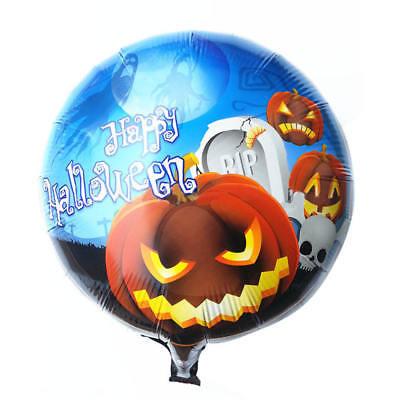 Folienballon Heliumballon Luftballon Party Halloween Kürbis Grusel  45cm