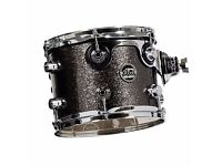 "DW PERFORMANCE SERIES 7"" (DEEP) X 8"" (DIAMETER) TOM PEWTER SPARKLE"