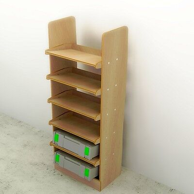 Power Tool Box Rack Available for most vans - see list