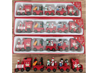 Toy Trains - 4 Sets
