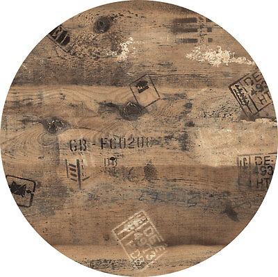 Werzalit Tischplatte 60 cm rund Ex Works wetterfest Ersatztischplatte Bistro 122