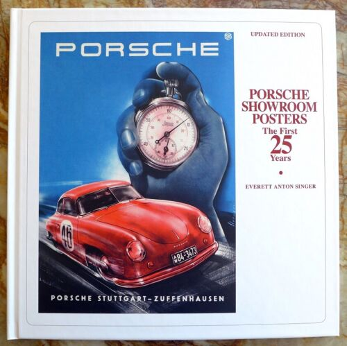 Porsche Showroom Posters ~ The First 25 Years  Updated  NOS