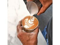 Barista wanted for busy Aussie Cafe, Marble Arch - competitive pay plus service