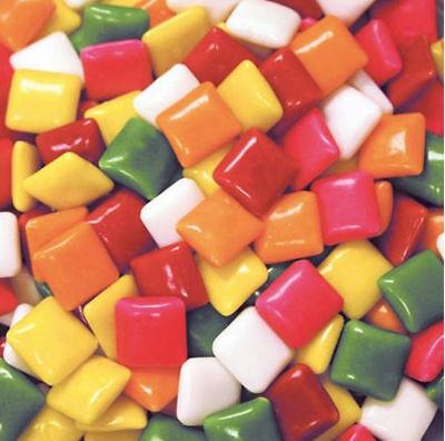 (5 LBS DUBBLE BUBBLE FRUIT FLAVOR CHICLETS CHEWING GUM Party favors or vending.  )