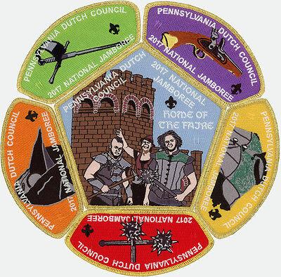 2017 Boy Scout Jamboree Pennsylvania Dutch Council JSP CSP Patch Set #11 of 15