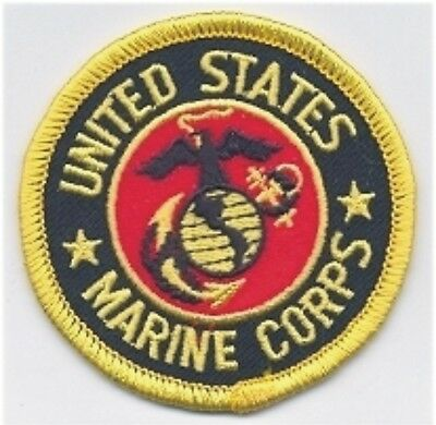 US Military USMC Seal of the United States Marine Corps Embroidered Patch
