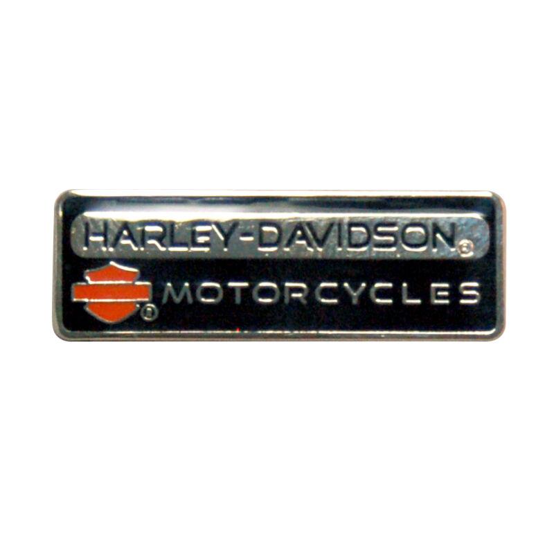 HARLEY DAVIDSON RARE Rectangle H-D Motorcycles Pin HARLEY  PIN