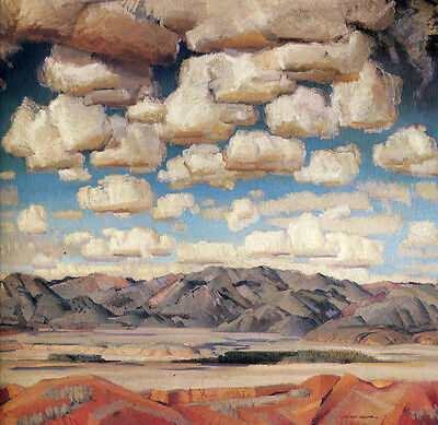 Taos Valley  by Victor Higgins  Giclee Canvas Print Repro