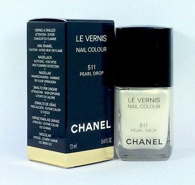 Le Vernis Nail (CHANEL LE VERNIS Nail Colour 511 Pearl Drop 13ml & Original Verpackt)