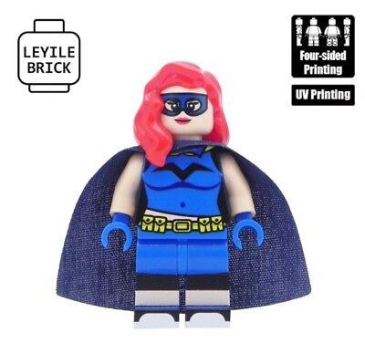 n Custom Batgirl Lego Minifigur (Batgirl Schuhe)