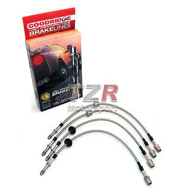 Goodridge Stahlflex Bremsleitung Mercedes Benz C W202 TME0600-4P