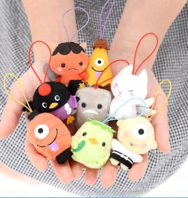 Authentic Japan AMUSE Puchimaru Yokai Zukan Mini Mascot Plush Phone Strap Kawaii](Kawaii Plush)