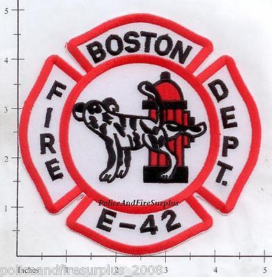 Massachusetts - Boston Engine 42 MA Fire Dept Patch