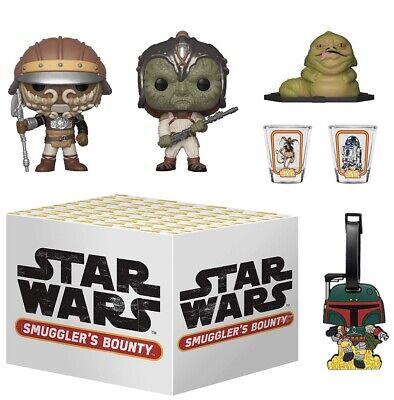 NEW Funko Star Wars Smuggler's Bounty Box Jabba's Skiff Theme