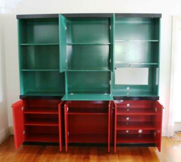 Colourful Designer Entertainment Unit / Bookcase / Credenza Rockdale Rockdale Area Preview