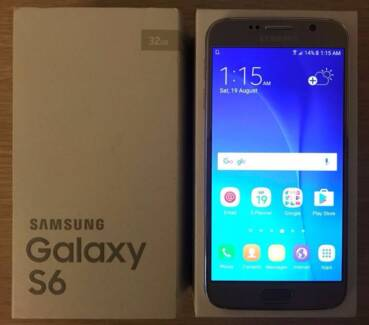 Samsung Galaxy S6 32G Gold Platinum unlocked Australian Stock