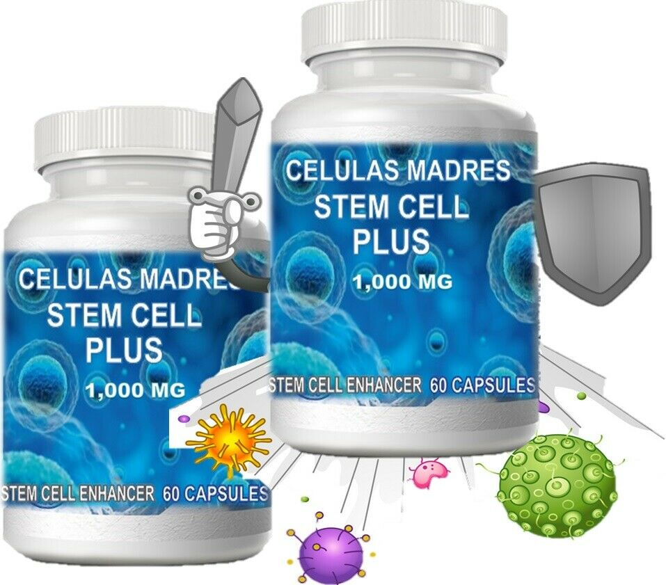 Celulas Madre 120 Caps StemCell Support Bacterium Cell Cure Biotrix Bioxcell