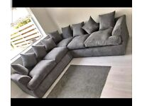 👑AFFORDABLE NEW LIVERPOOL JUMBO CORD CORNER SOFA AVAILABLE IN 3+2 SOFA SET AS WELL👑