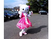 HELLO KITTY (look alike) adult mascot costume