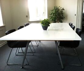 Large IKEA conference meeting table