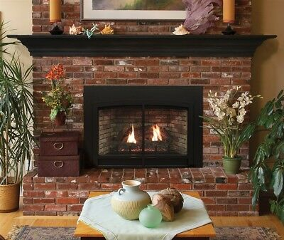 Empire Gas Fireplace Insert Package Blowout Price Innsbrook Medium DVC26IN71N - Fireplace Insert Package