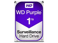 """1TB WD Purple 3.5"""" Internal Surveillance Hard Drive"""