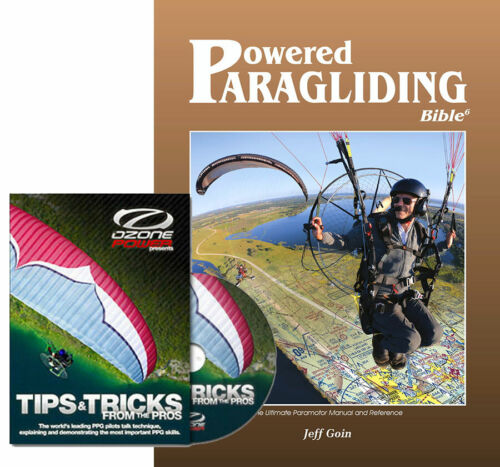 Book & DVD Combo - PPG Bible 6 and Tips & Tricks from the Pros for Paramotor!