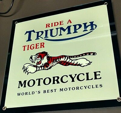 Triumph Motorcycle Motorcycles sign