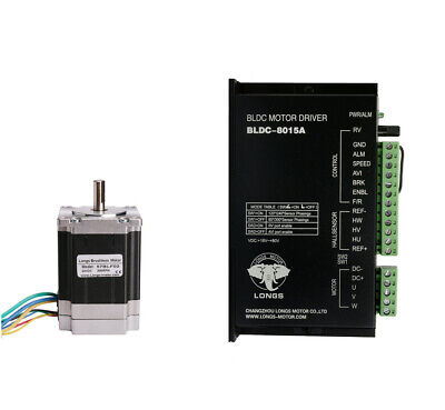 57blf02 Brushless Dc Motor3000rpm 125w 24vdriver Bldc-8015a Medical Devices