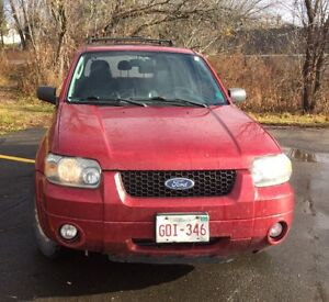2007 FORD ESCAPE ALL WHEEL DRIVE