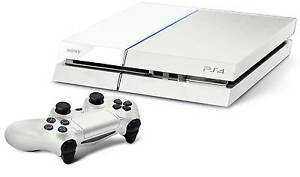 Playstation 4 white console limited edition 500GB Hazelbrook Blue Mountains Preview