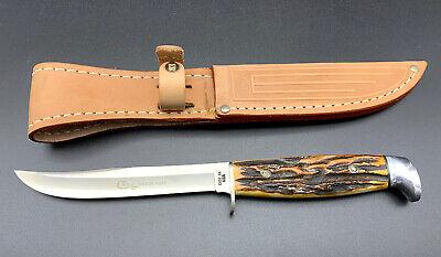 Case XX Fixed Blade Knife Stag Handle 516-5 SSP Razor Edge & Case Sheath