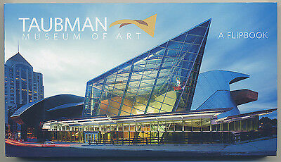 Taubman Museum Of Art Roanoke Virginia 7  X 4  Inch Time Lapse Motion Flip Book