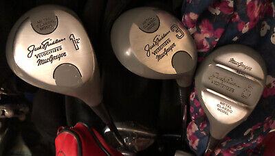 jack nicklaus golf clubs 1 3 & 5 Macgregor Rare Metal Classic Model