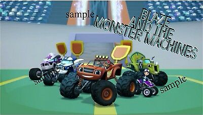 BLAZE AND THE MONSTER MACHINES #1 IRON ON TRANSFER