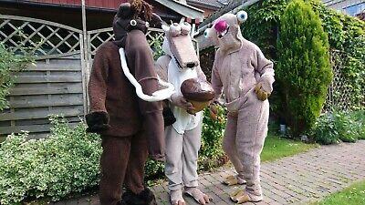 Ice Age Kostüme, Sid, Manni, Scrat mit (Eichel Kostüm)