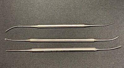 Aesculap Fb120r Fb121r Fb122r Varady Phlebectomy Extractor Set Of 3