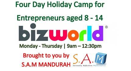 S.A.M Mandurah - Holiday Camp - Entrepreneurship