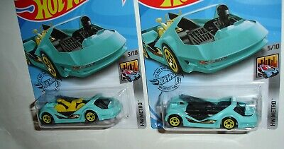 Hot Wheels Factory Sealed Error General Dollar HW DEORA III  Missing  Bicycle