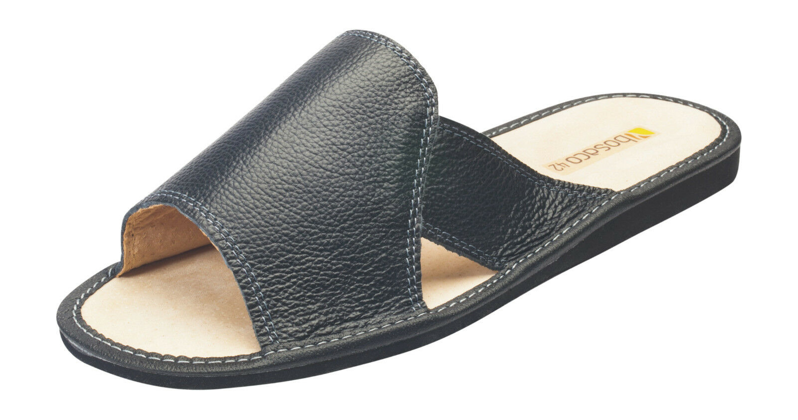 Hombre COMFORTABLE REAL LEATHER VERY COMFORTABLE Hombre SLIPPERS ALL Talla 800db9