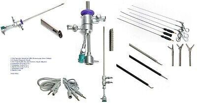 Hysteroscopy 2.9mm Office Operative 4m Diag Sheath Scissor Forcep Electrode 10pc