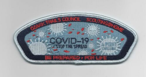 Boy Scout Ozark Trails Council 2020 Stop The Spread CSP/SAP