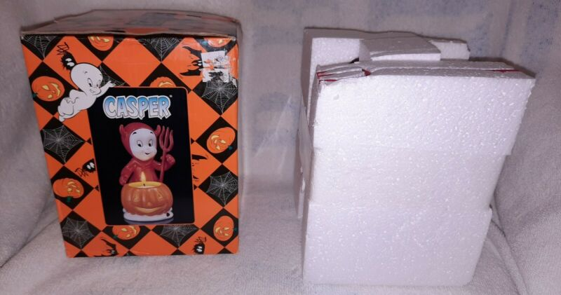 Casper The Friendly Ghost Lil Devil Halloween Tea Light Holder 2005 Coyne