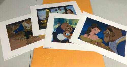 Disney Beauty & The Beast Lithograph Set 2002 Portfolio