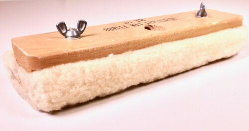 Duplex Lambswool Wax & Floor Finish Applicator, 12-Inch