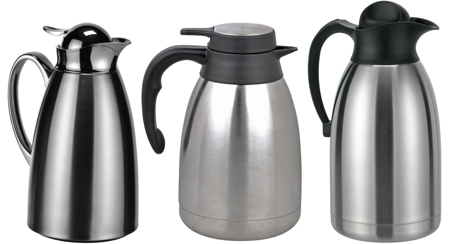 Edelstahl Isolierkanne Kaffeekanne Thermoskanne Thermo Kanne Thermosflasche