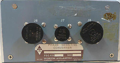 North Atlantic Industries Phase Sensitive Converter Psc 419