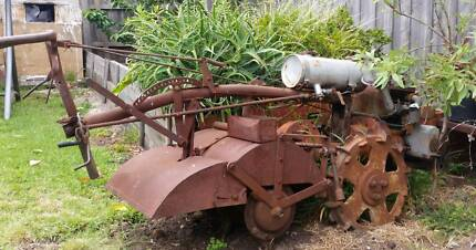Vintage Plough / Rotary Hoe